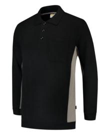 Tricorp polosweater bicolor borstzak 302001/TS2000 met bedrukking