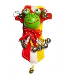 Carnavals broche Oetel met belletjes
