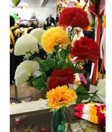 Oeteldonk decoratie bloemen