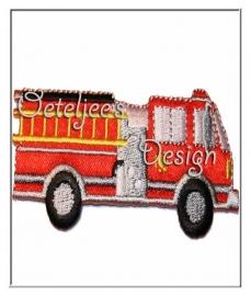 Geborduurde applicatie brandweer tankautospuit