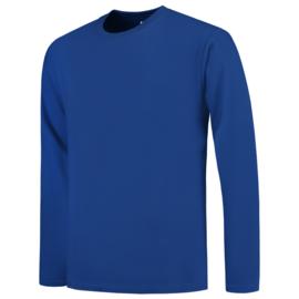 Tricorp T-shirt V-hals  lange mouw 101006/TL190 met bedrukking