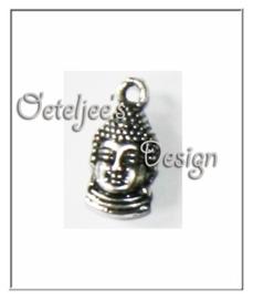Bedel boeddha metaal oudzilverkleur