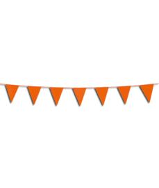 Mini Vlaggenlijn / slingers oranje