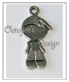 Bedel - Kind metaal zilverkleur