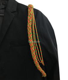 Paracord erekoord Kruikenstad oranje groen