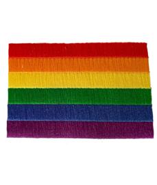 Embleem regenboog kleuren
