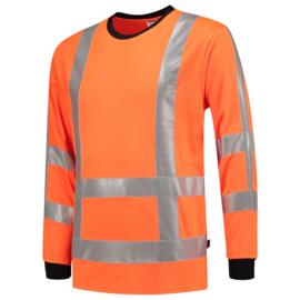 Tricorp T-shirt RWS birdseye lange mouw 103002 met bedrukking