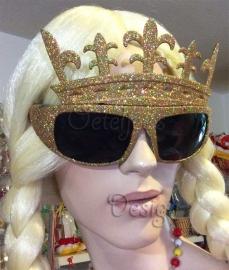Party bril Queens