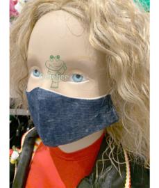 """Trendy mondkapje kinderen """"Jeans"""" (jongen/meisje) no.43"""