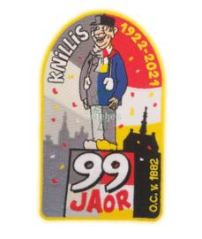 Embleem Oeteldonksche Club Knillis 99 jaor