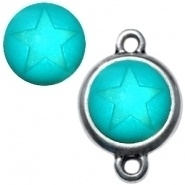 Polaris cabochon ster matt 12 mm Deep blue zircon