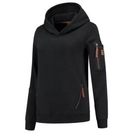 Tricorp sweater Premium capuchon dames 304006 met bedrukking