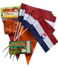 Koningsdag / EK versier je huis / bedrijf / vereniging voordeel pakket