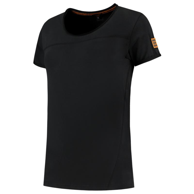 Tricorp T-shirt Premium naden dames 104005 met bedrukking