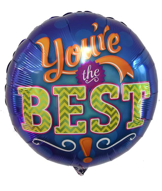 Folie ballon You're the best