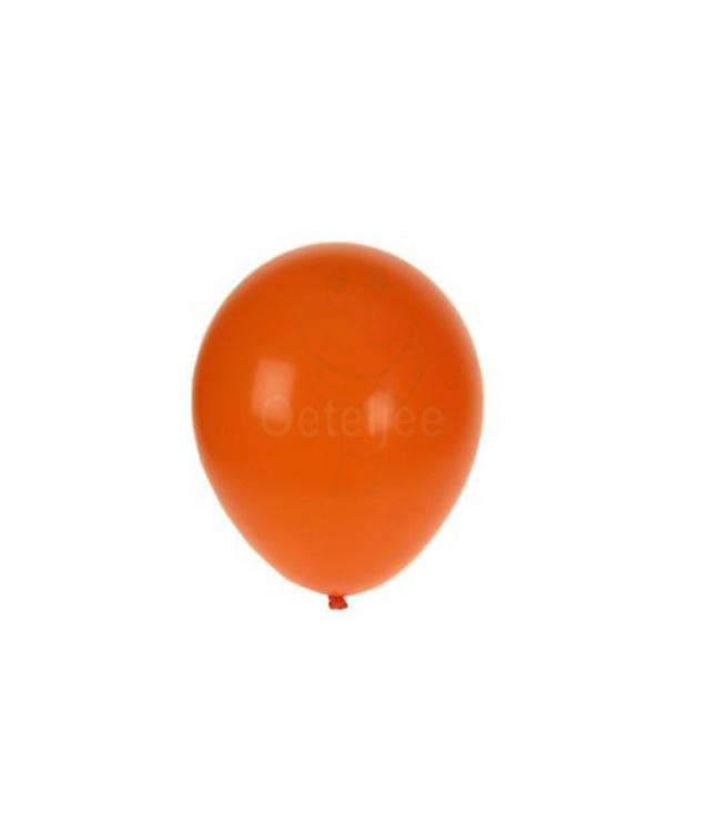 Helium ballon oranje (100 stuks)