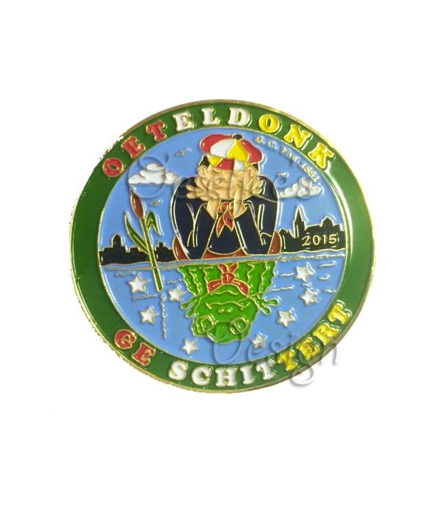 """Pin Oeteldonkse Club 2015 """"Oeteldonk Ge Schittert"""""""