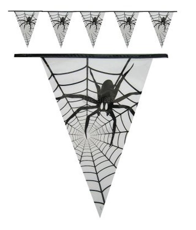 Vlaggenlijn spin Halloween