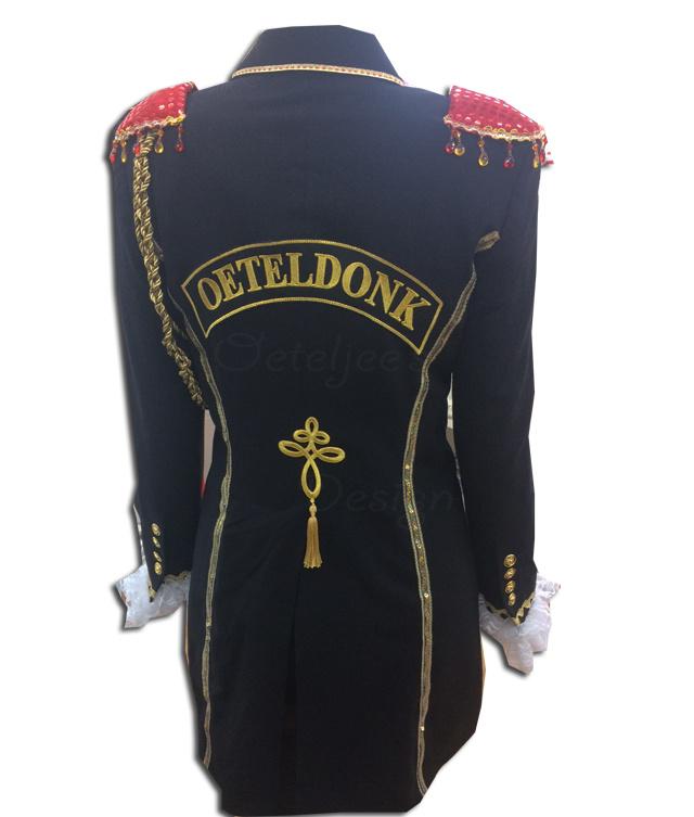 Zeer luxe Oeteldonkse damesjassen | Oeteldonkse uniform