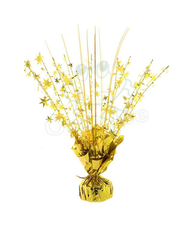 Ballon gewicht glans goud (30 cm)