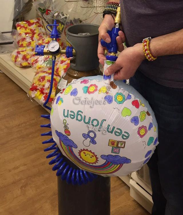 Helium ballonnen vullen bij Oeteljee Den Bosch