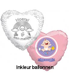 Inkleur ballonnen