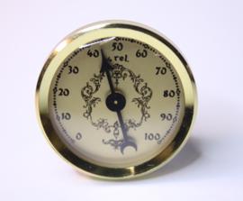 Hy04 mini insteekwerk hygrometer 36 mm.