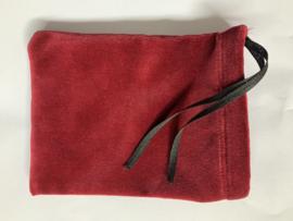 Fluwelen zakje voor kloksleutel, 16 x 12 cm