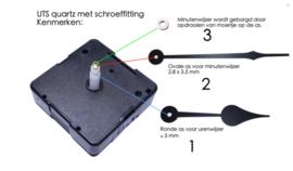Extra sterk Quartz,  UTS Duitsland, 11 mm.