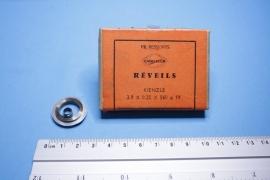 rev-6 Opwindveer voor wekker 3,9 x 0,25 x 560 diameter 19 mm