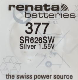Renata 377 Horloge batterij, 0% lood, 0% kwik, Zwitserland