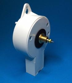 standaard electrisch uurwerk 230/240v 50Hz, Duitsland, aslengte 23 mm.