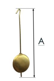 BE230 Slinger voor kleine appeltjes klok en pendule, 65 mm.