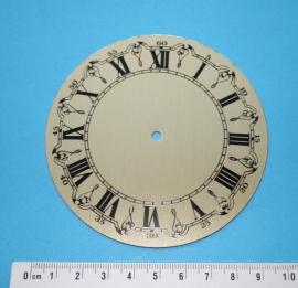 109.8 Aluminium wijzerplaat, 92 mm