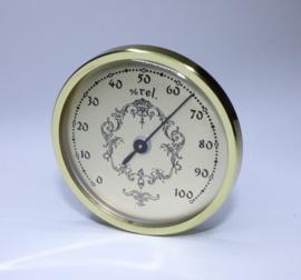 Th05.2 klein insteekwerk hygrometer 55 mm.