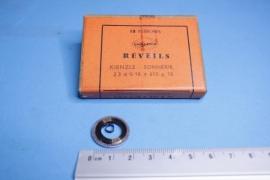 rev-1 Opwindveer voor wekker 2,3 x 0,18 x 650 diameter 18 mm, Kienzle
