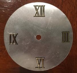 sc010 Kunststof Romeinse cijferset bestaande uit 3, 6, 9 en 12. (8 mm)