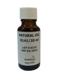 Moebius natuurlijke klokolie 8141, 20 ml, klokken met zware belasting, Zwitserland