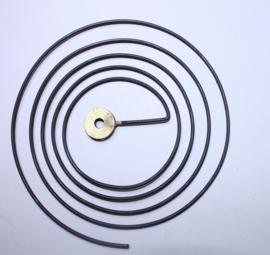 RG33 Losse rondgong met bevestigingsring binnen, ca 110 mm