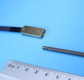 L20 slingerveer Friese staartklok of engels staand horloge. 143 mm