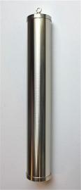 Ar.1 Mat of glimmend messing vernikkelde diamant geslepen gewicht 245/36mm