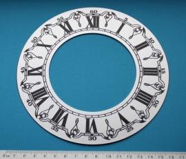 109.28 aluminium chapter ring, 160 mm