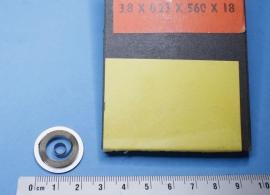 rev-5.1 Opwindveer voor wekker 3,8 x 0,23 x 560 diameter 18 mm