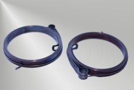 Standaard opwindveer met oog aan het eind ipv lus, 7,5 x 0,30 x 1100 mm