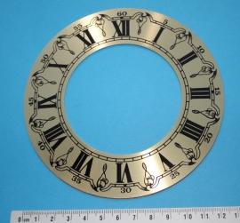 109.23 Aluminium chapter ring , 130 mm