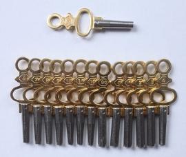 kloksleutels voor zakhorloges