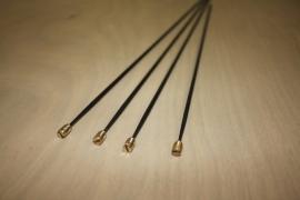 115.1 Losse stalen gongstaven in diverse lengtes. dikte: ∅ 3,60 mm.
