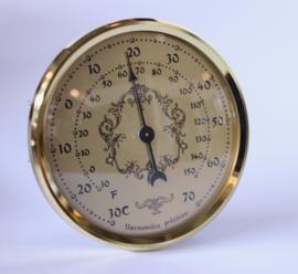 Th.02.72 Thermometer, ℃ en ℉, Insteekwerk 72 mm