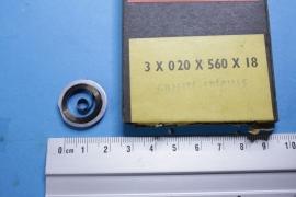 rev-12 Opwindveer voor wekker 3 x 0,20 x 560 x 18 mm