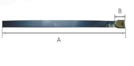 L27 Slingerveer voor staand horloge of Friese staart 118 mm, Engeland